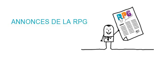 ANNONCES DE LA RPG