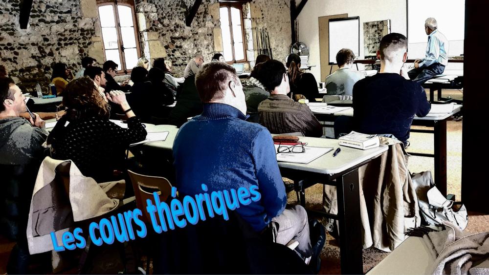 Les cours théoriques